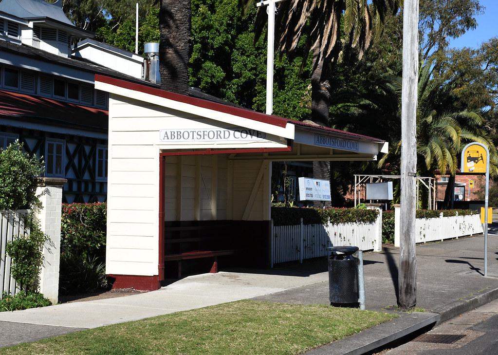 Former Tram Shelter, Abbotsford, Sydney, NSW.