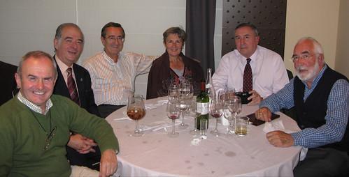Mesa de Iurreta: José Mari Zeberio, Imanol Zubizarreta, Iñaki Zarraoa,  Arantza Garmendia,  Mikel Agirregabiria y Sabin Ipiña.