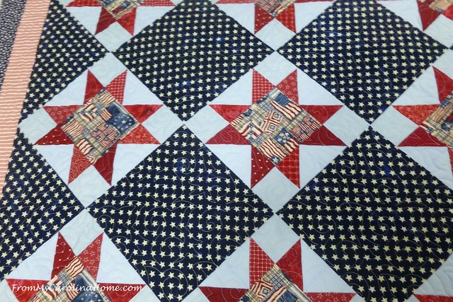 Quilt of Valor at FromMyCarolinaHome.com