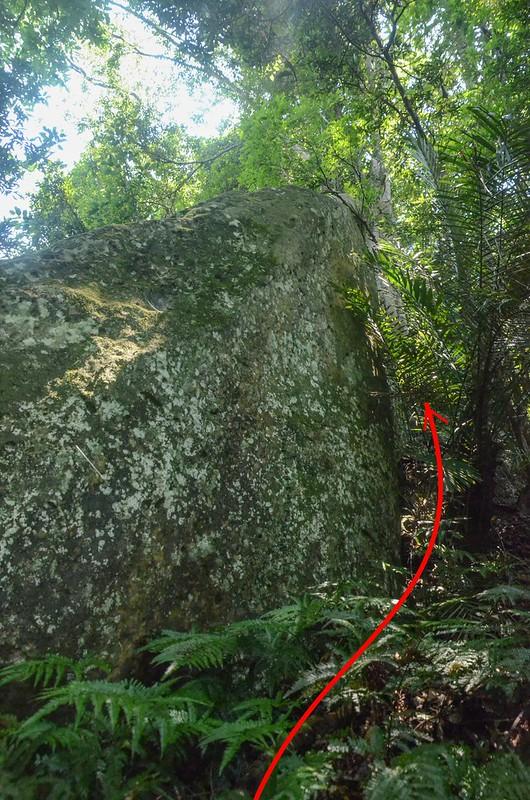 巨岩岩壁地形 (2)