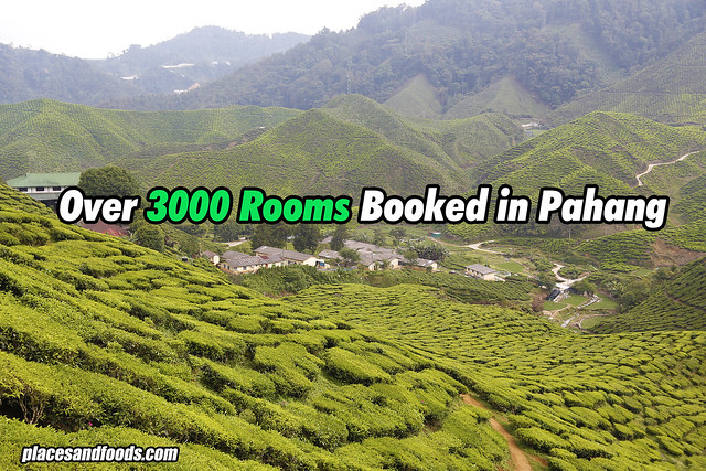 over 3000 rooms pahang