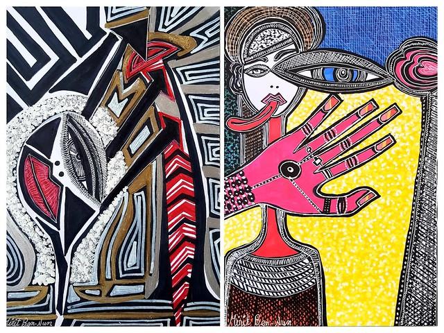 Visit Israel art at artist residency by Mirit Ben-Nun
