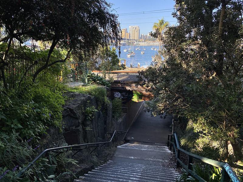 Lavender Street stairs