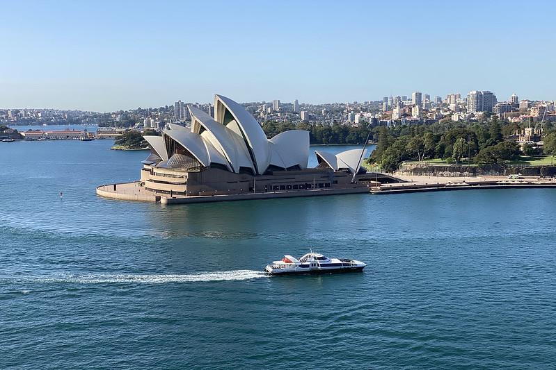 Opera House, from the Bridge