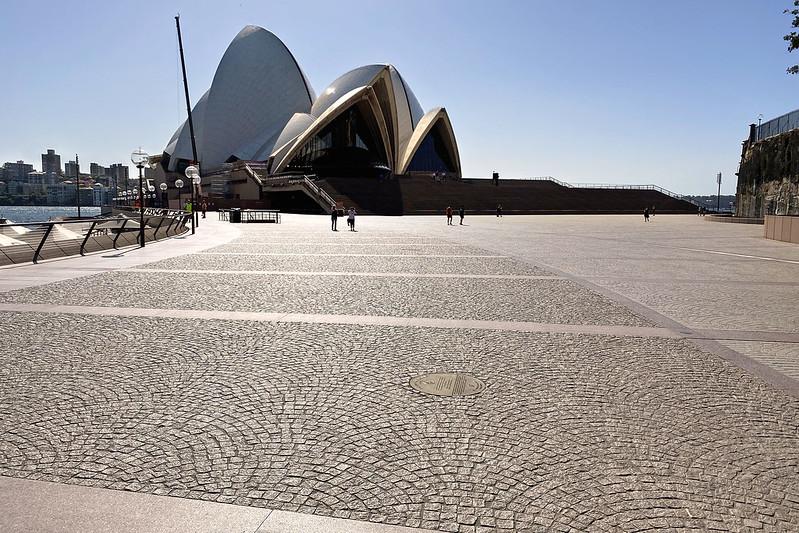 Opera House forecourt