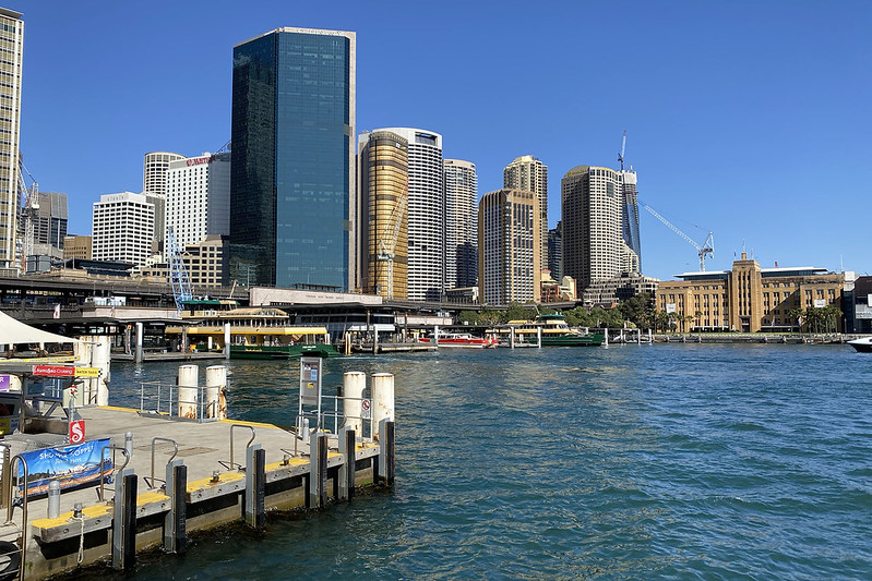 City from Circular Quay East