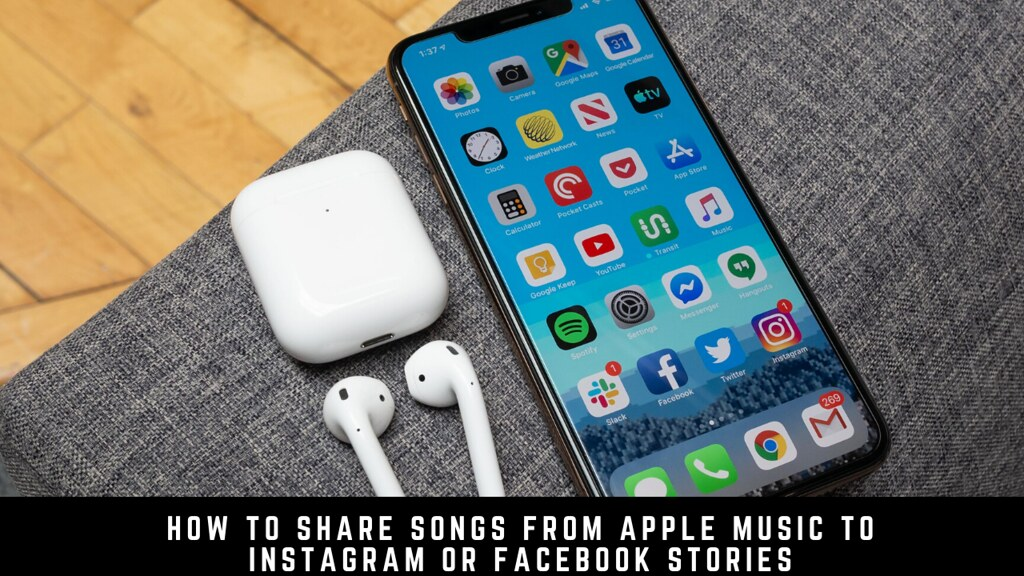 How to share songs from Apple Music to Instagram or Facebook stories