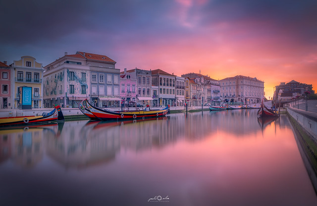 Aveiro at sunrise / Portugal
