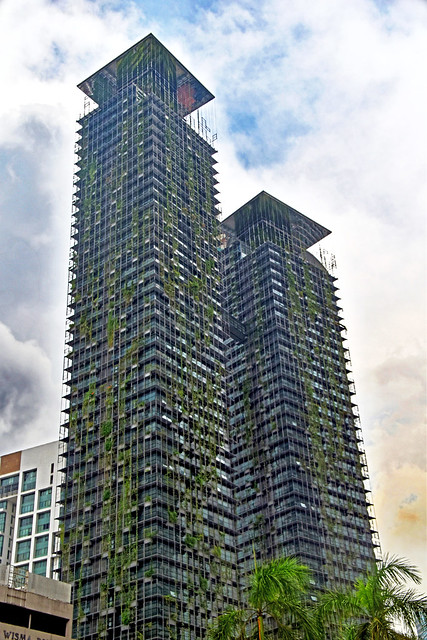 The Other Twin Towers, Le Nouvel (Verticle Garden)  of Kuala Lumpur, Malaysia.