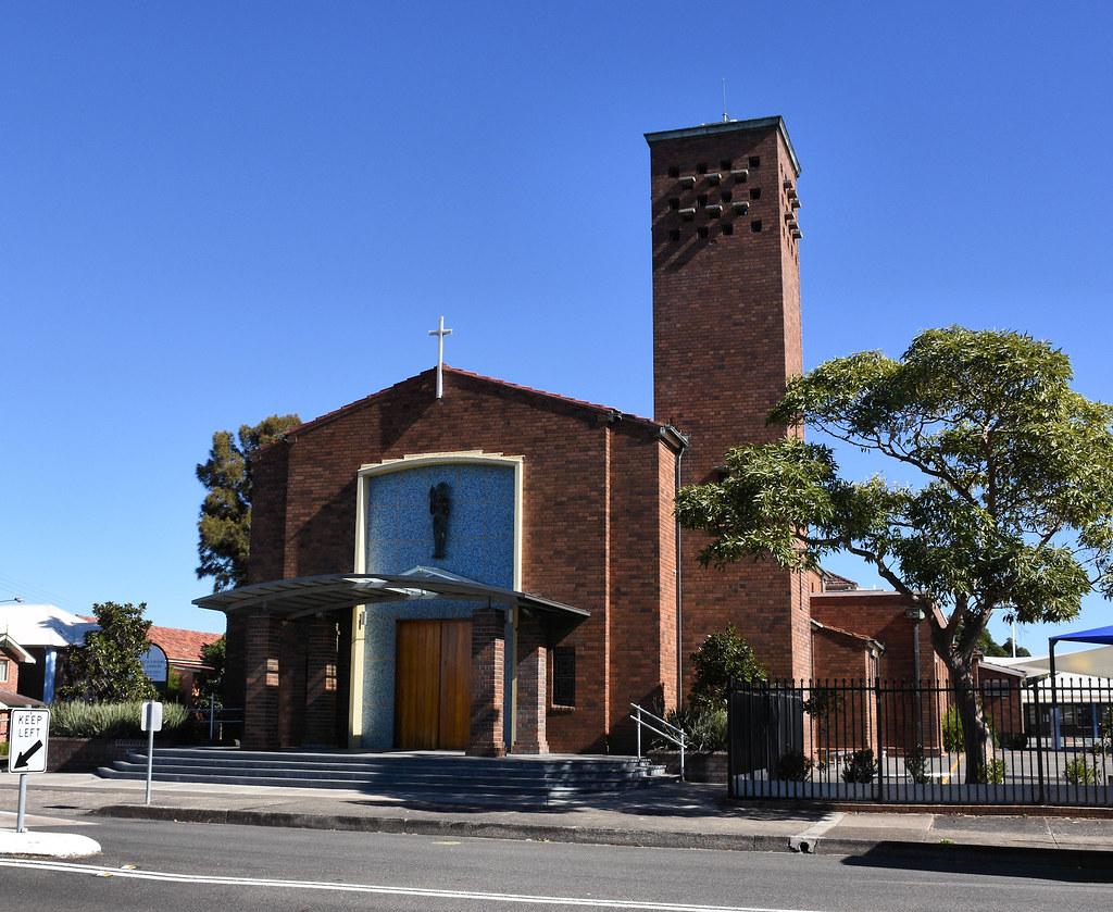 St Francis Xavier's Catholic  Church, Croydon Park, Sydney, NSW.