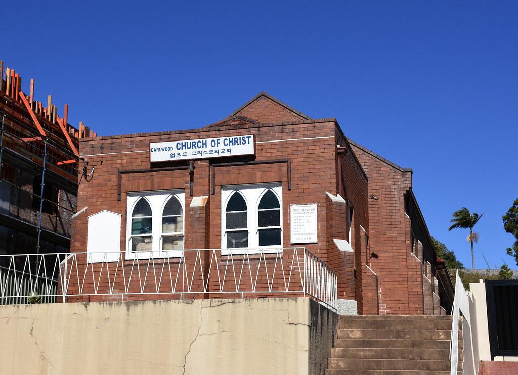 Churches of Christ, Earlwood, Sydney, NSW.