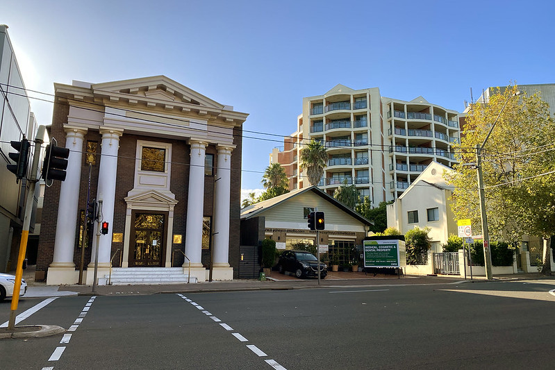 Old Masonic Temple, Pacific Highway