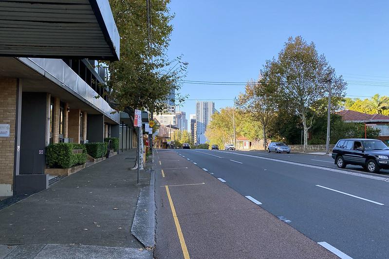 Pacific Highway, North Sydney.