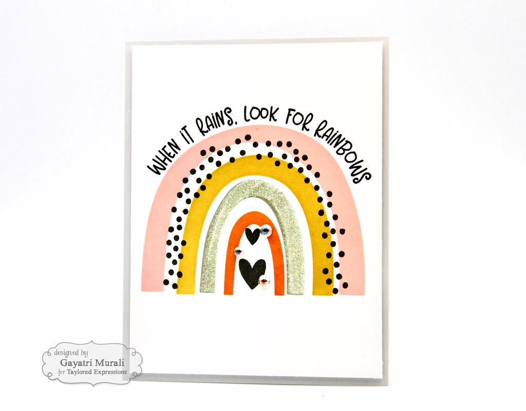 Rainbow card #2
