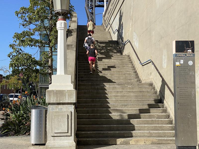 Harbour Bridge steps