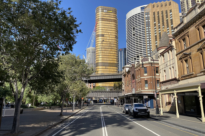 George Street, southbound