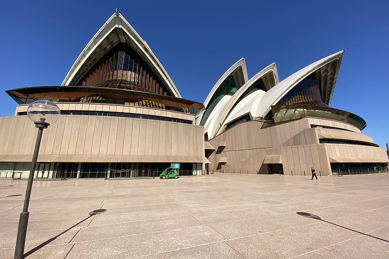 Opera theatre and concert hall