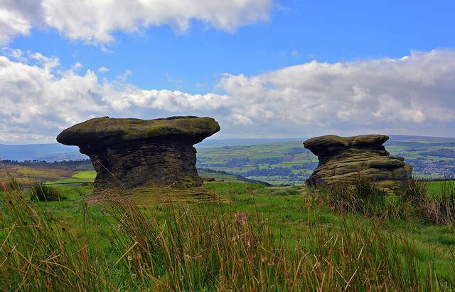 The Doubler Stones on Rombalds Moor