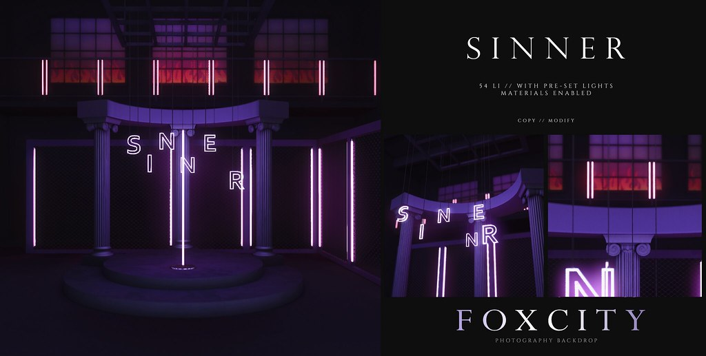 FOXCITY. Photo Booth – Sinner