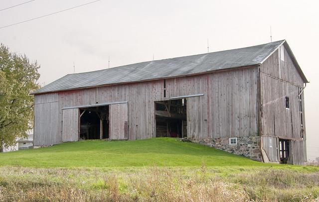 Barn, Saline Township