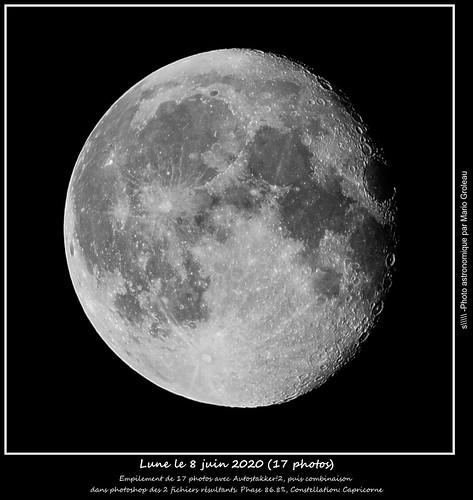 Lune le 8 juin 2020 (17 photos)