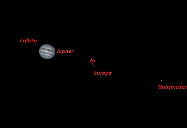 VCSE - Az előző kép feliratozva a Galilei-holdak neveivel - Fridrich János Mihály