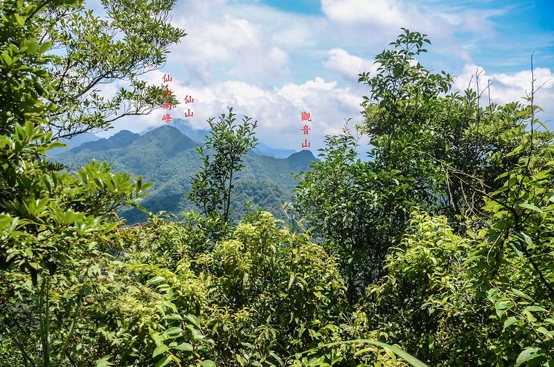 八卦力山山頂北面展望 (3)