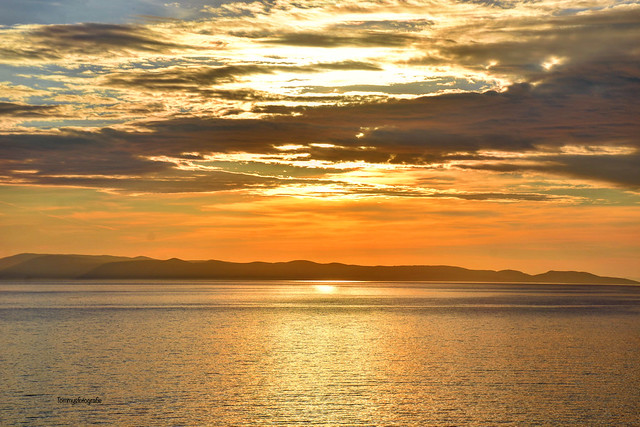 Golden hour over Dalmatia