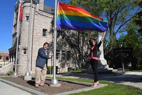 HPPH Pride flag raising 20200601