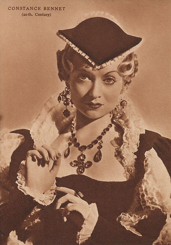 Constance Bennett in The Affairs of Cellini (1934)