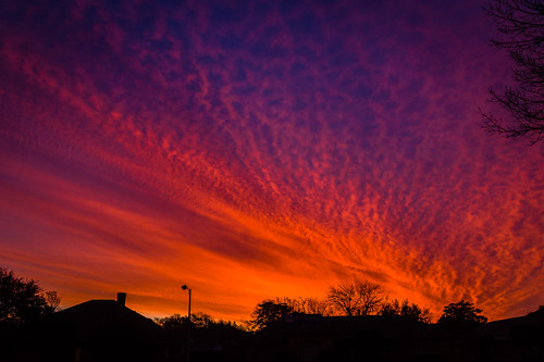 sunrise orange colors red purple winter outside outdoors pentaxkp pentax