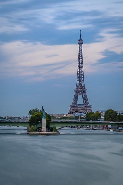 Depuis le pont Mirabeau