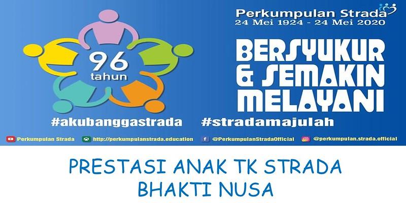 Prestasi Anak TK Strada Bhakti Nusa dalam HUT Strada Ke-96 Tahun