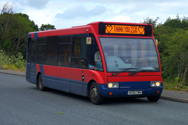 Heroes: Trustybus (ex Stagecoach East 47354) Optare Solo M850 AE06TWN Stansted Road Stansted Mountfitchet 08/06/20