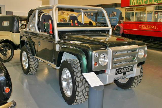 088 Land Rover (Defender) SVX Concept (1999)