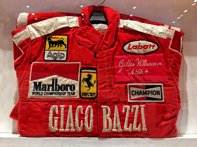 Gilles Villeneuve Firesuit