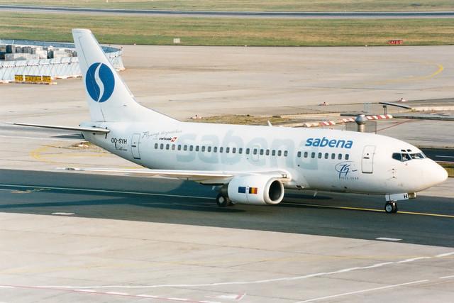 Sabena | Boeing 737-500 | OO-SYH | Frankfurt Main