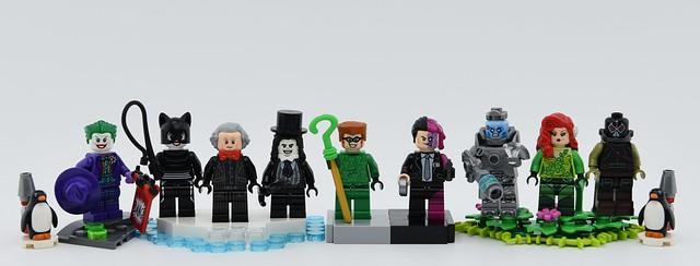 Dc minifigs #39 : Batman Returns, Forever and Robin