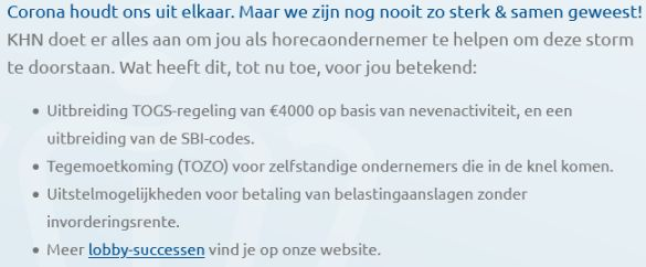 WebSiteKoniklijkeHorecaNederland