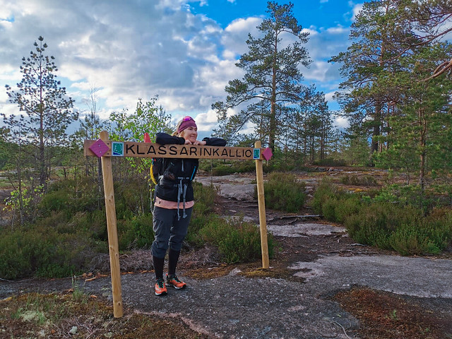 85k adventure run in Nuuksio