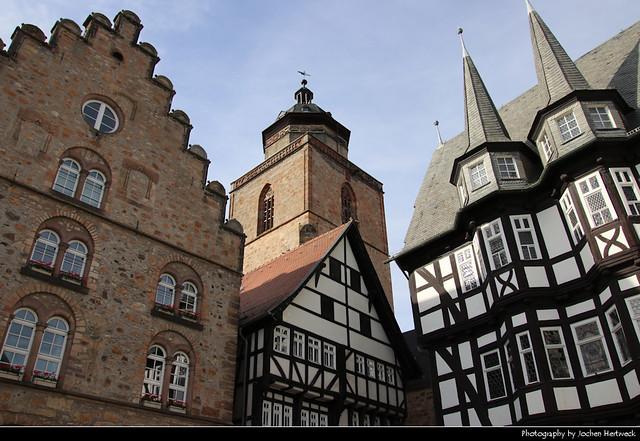 Marktplatz, Alsfeld, Germany