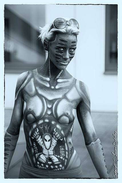 Body paint #CanonPhotography