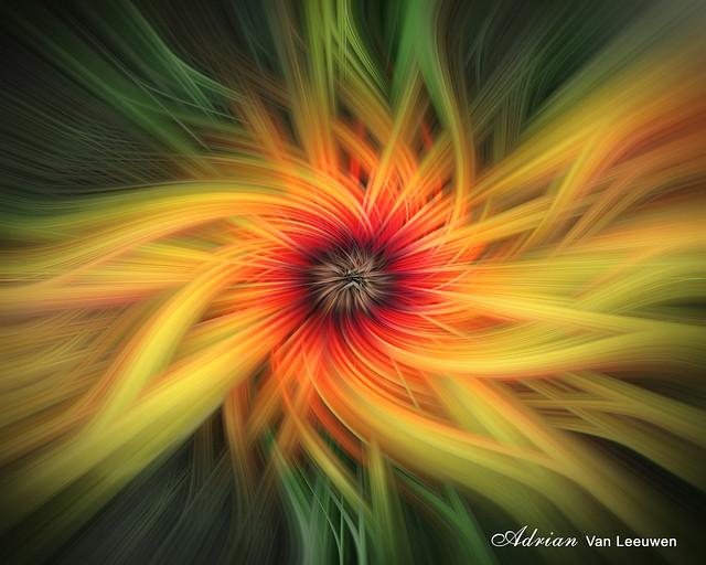 Flower Twirl Fantasy Fractal Art