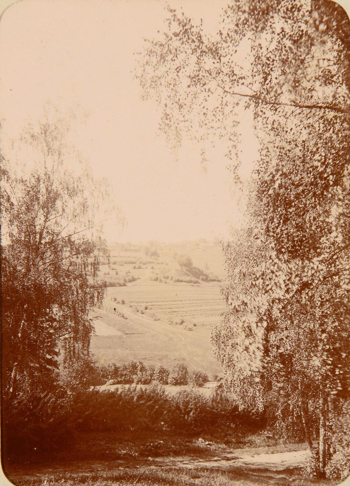 22. Вид на поля