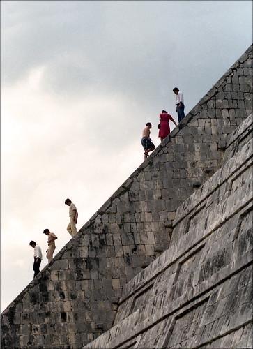 Climbing Kukulcan