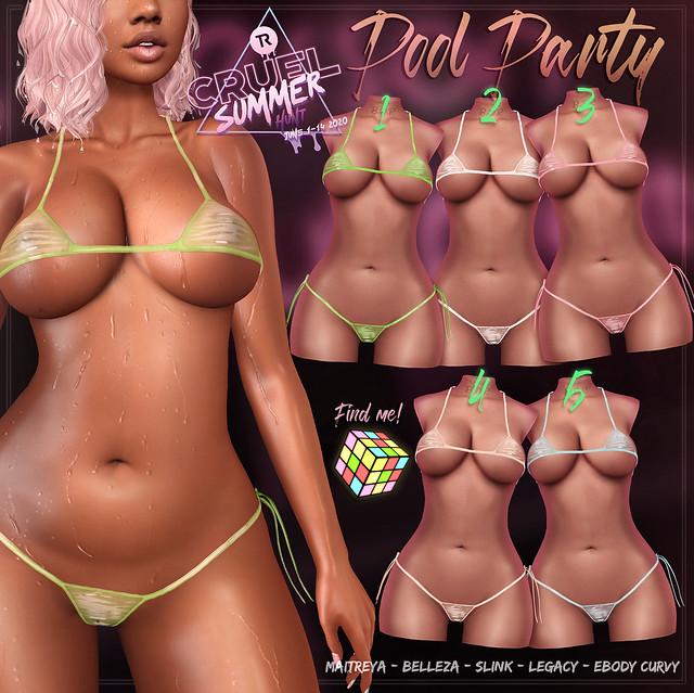 *B.D.R.* Pool Party (Wet Version)