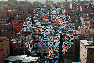 eL Seed: City-wide calligraffiti