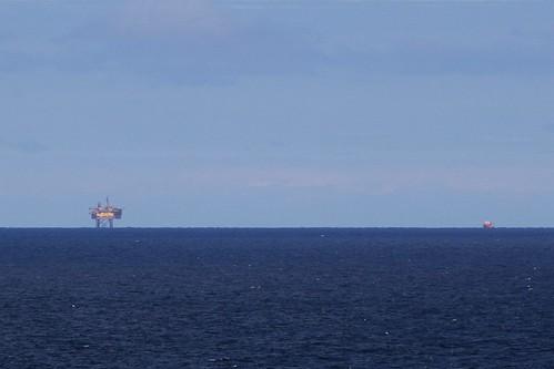 Yolla gas platform on Bass Strait