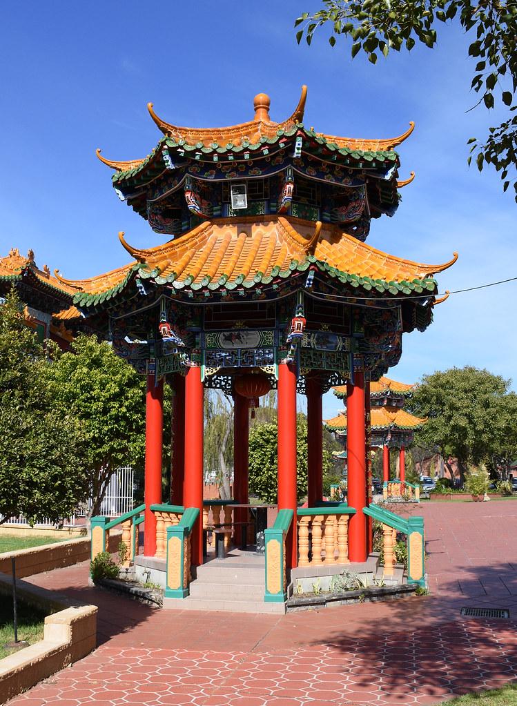 Mingyue Lay Buddhist Temple, Bonnyrigg, NSW.