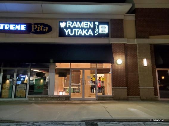 Ramen Yutaka storefront